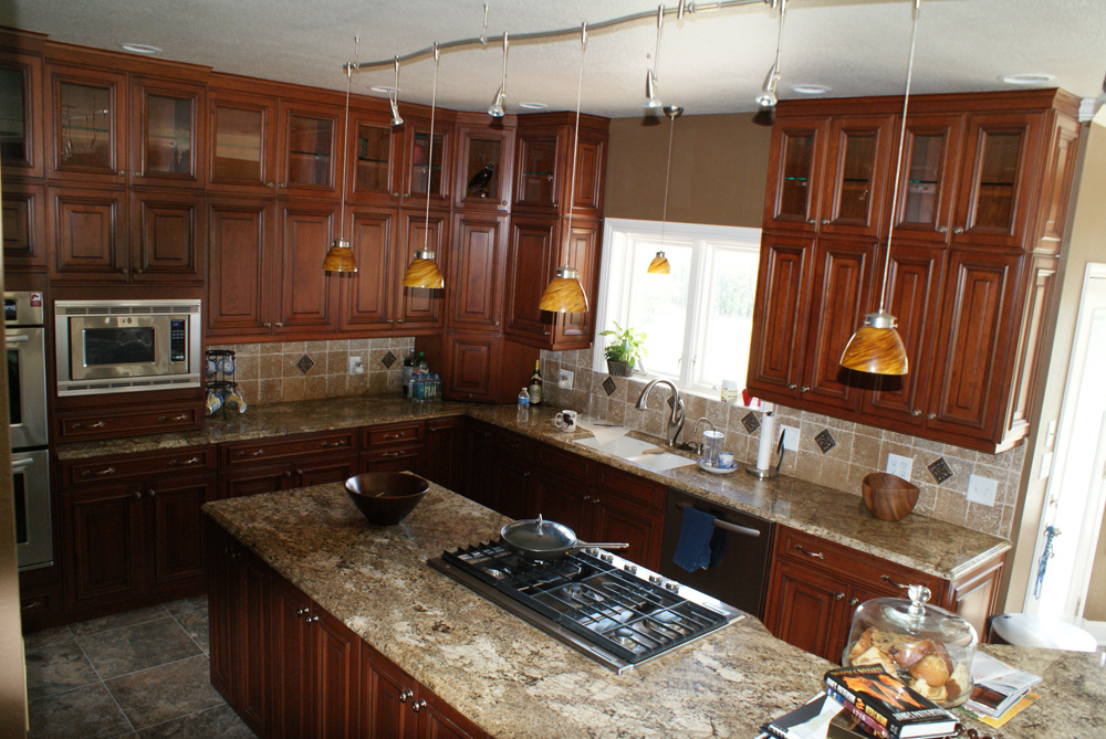 Edwards construction kitchens for Beautiful kitchen remodels